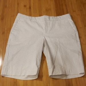 Banana Republic Seersucker Shorts